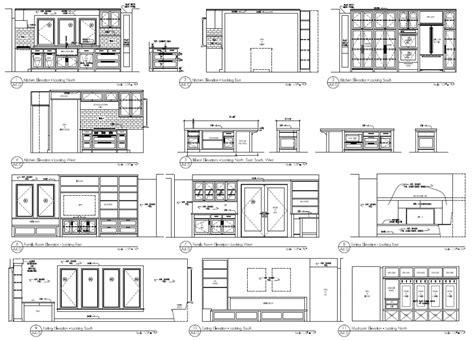 inspirational kitchen cabinet cad blocks jou