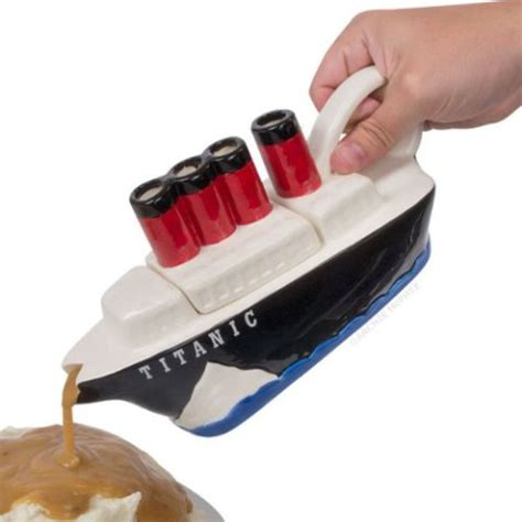 gravy boat is called want this new innovation titanic gravy boat