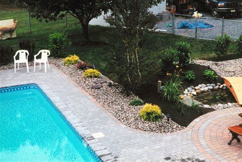 landscaping ideas around pool modern pool landscaping ideas with rocks and plants