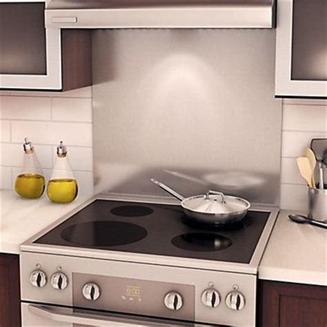 stainless steel backsplash for stove 17 best ideas about stove backsplash on white kitchen backsplash herringbone