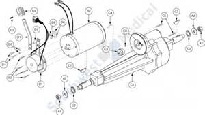 sc63 sc63 revo 3 wheel replacement parts drive assembly 187 drive assembly replacement parts