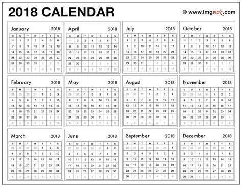 free monthly calendar template to print 2018 15 calendar printable printable calendar templates 2018