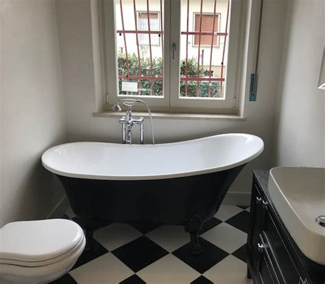 vasche da bagno retro vasca con piedini vasca da bagno retr 242 color