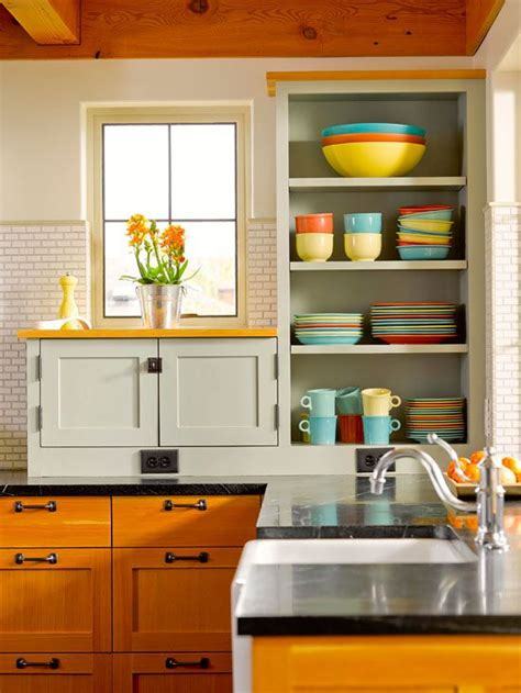 remove kitchen cabinet doors open storage ideas