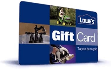 lowe s home improvement gift cards save 10