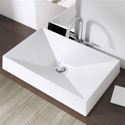 bathroom countertop shelves white solid stone basin sink counter top vanity shelf