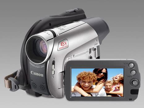 Canons New Dc330 And Dc301 Camcorders Let You Shoot Widescreen by Canon Dc300 Series Camcorders