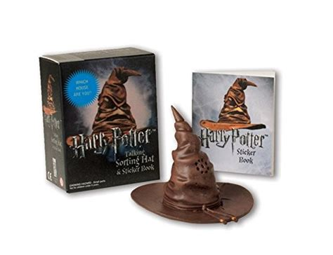 harry potter which house are you harry potter talking sorting hat and sticker book which house are you miniature
