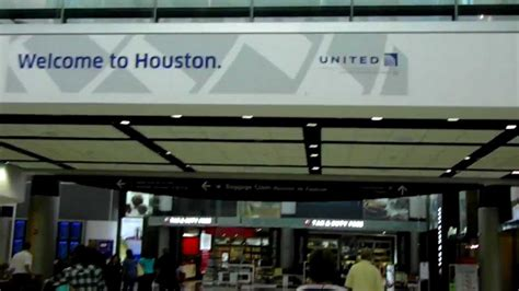 united airline sign in hd iah new united continental sign quot welcome to houston