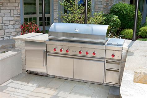 wolf outdoor kitchen sub zero wolf outdoor kitchen contemporary patio new