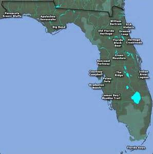 scenic byways and highways of florida