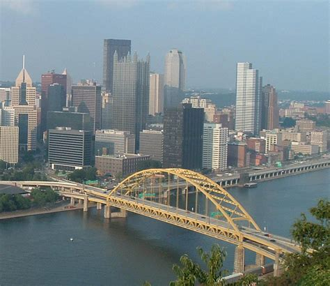 all ford pittsburg my tapestry pittsburgh skyline from the fort pitt tunnels