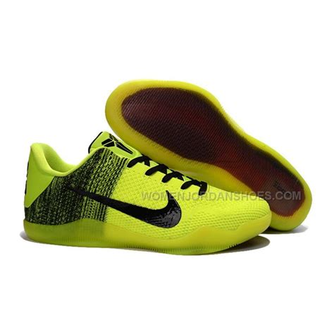 kobes shoes for sale style nike 11 yellow black price 103 00