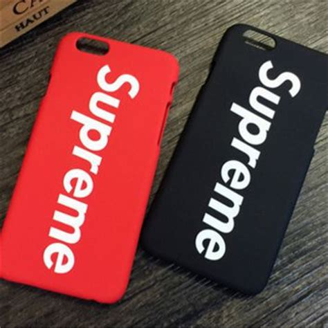 Iphone 7 7 Supreme Cover Casing Hardcase shop supreme iphone 6 on wanelo