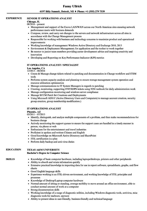 Operations Research Analyst Sle Resume by Operations Research Resume 28 Images 100 Operations Research Analyst Resume Market Research