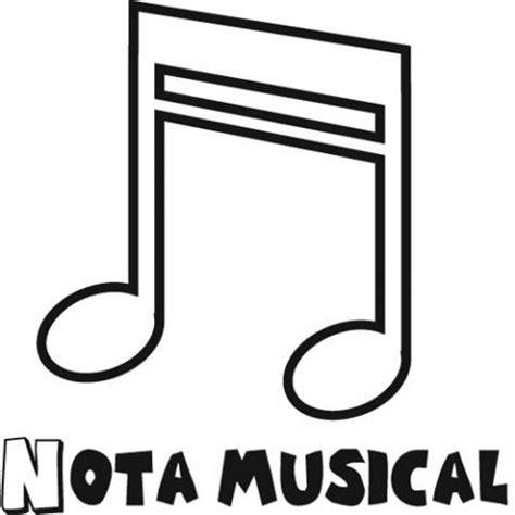 imagenes para dibujar notas musicales dibujos de nota musical para colorear con los ni 241 os