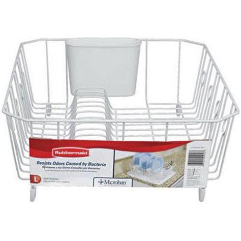 Rubbermaid Sink Rack by Rubbermaid Antimicrobial Dish Racks In Sink Dish Drainer