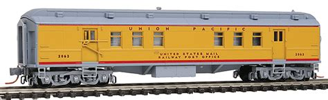 Pullman Post Office by Micro Trains 14000060 Pullman Heavyweight 60 Railroad Post