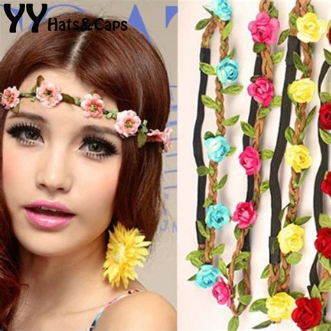 6 Beautiful Floral Headbands For And Summer by Summer Style Floral Flower Hairband Headbands