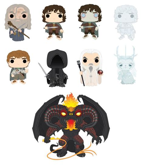 Funko Pop Gandalf The Lord Of The Rings middle earth news new lord of the rings funko pops