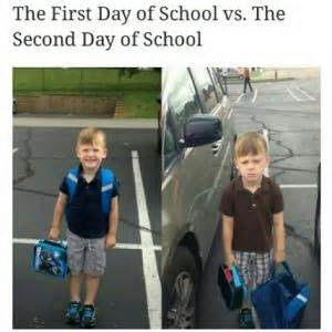 First Day Of School Funny Memes - crush memes kappit