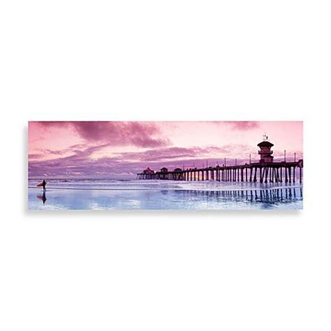 bed bath and beyond huntington beach huntington beach bliss canvas print 58 inch x 18 inch wall