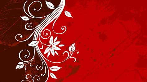 red floral wallpapers floral patterns freecreatives