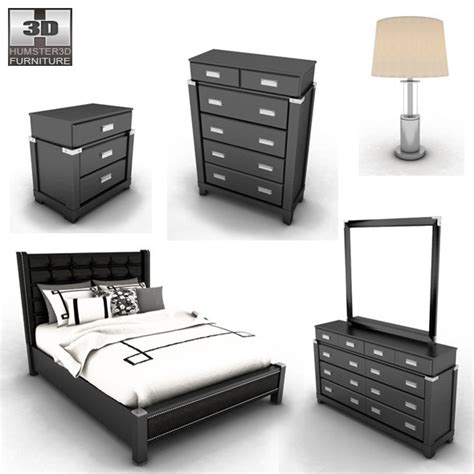 diana bedroom set ashley diana platform bedroom set by humster3d 3docean
