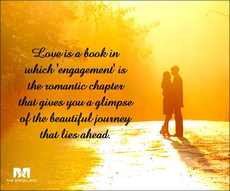 Wedding Quotes S Journey by 65 Engagement Quotes For That Special Moment