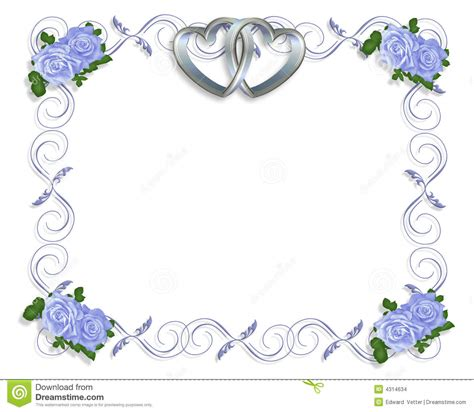 Wedding Blue Border Design by 5 Best Images Of Blue Wedding Borders Blue And Silver
