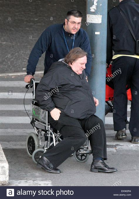 gerard depardieu wheelchair 19 december 2012 rome french actor gerard depardieu looks