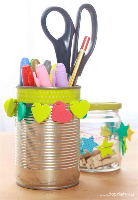 decorar latas papel c 243 mo decorar tarros de cristal y latas papelisimo