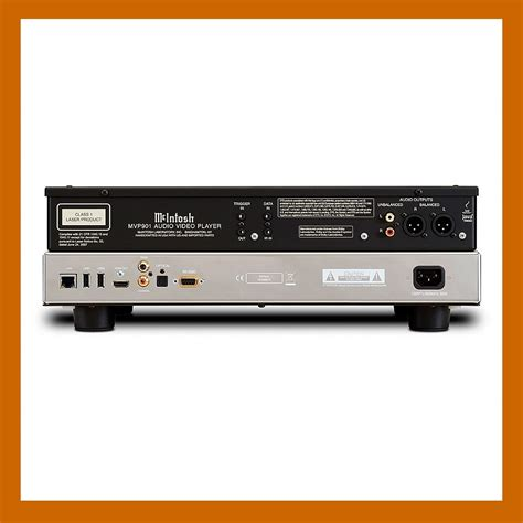 format audio universel mcintosh mvp901 lecteur universel tout format audio video