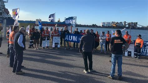 haircut deals newcastle nsw wharfies outraged by pay cut foreign labor
