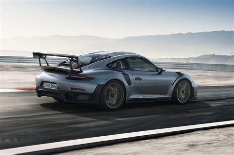 porsche 911 price 2018 porsche 911 gt2 rs delivers 700 hp motor trend