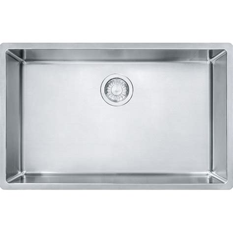 28 Kitchen Sink Franke Cux11027 Cube 28 1 2 Inch Undermount Single Bowl Stainless Steel Kitchen Sink Cux11027