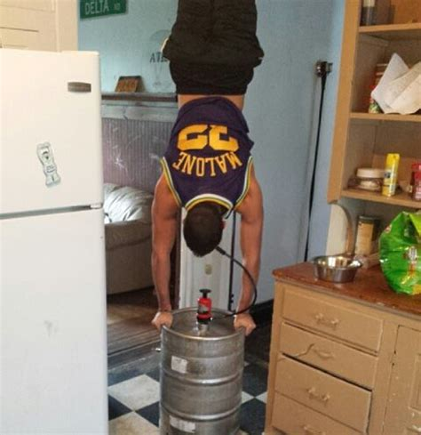 total frat move solo kegstand in the malone jersey tfm