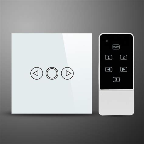 touch l control switch glass switch glass 1 gang 300w touch dimmer remote control