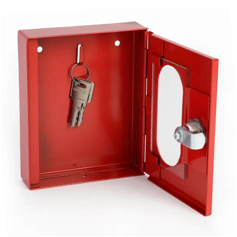 keysure glass front emergency key cabinet