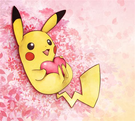 pikachu valentines day pikachu by cocodoo on deviantart
