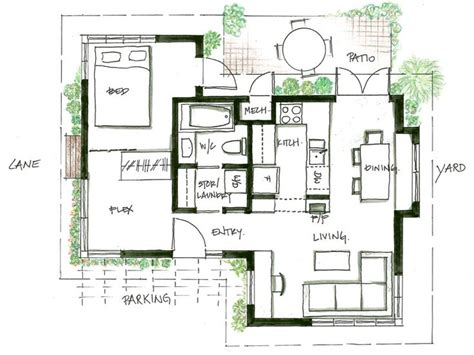 Laneway House Plans 445 Best Images About Floorplans On One Bedroom Cabin Kits And Cabin