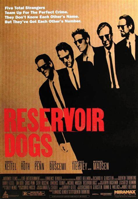 affiche film quentin tarantino affiches et pochettes reservoir dogs de quentin tarantino