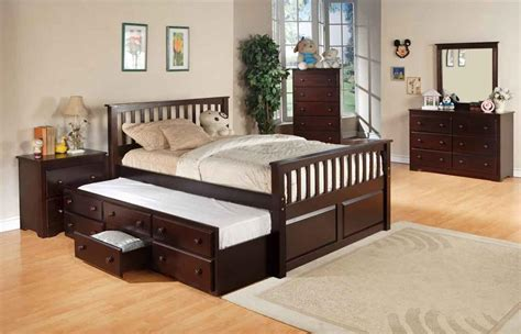 new captain bed with underbed trundle bed with