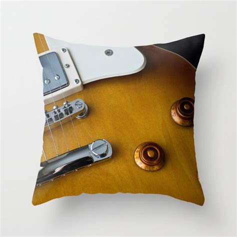 guitar pillows electric guitar pillow cover musician cave decor throw