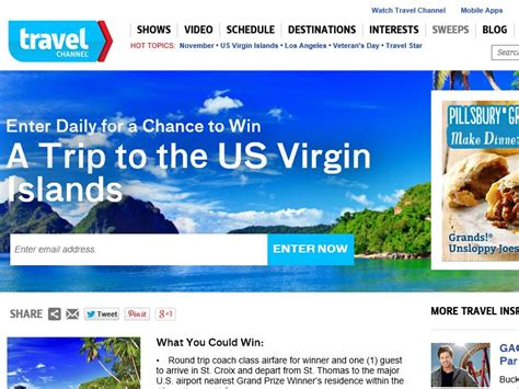 November Sweepstakes - travel channel november 2014 sweepstakes