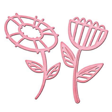 Diskon Dies Flower Circle 7 Dies spellbinders shapeabilities in spire dies flower power 2