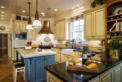 country blue kitchen cabinets french country blue kitchen cabinets smith design