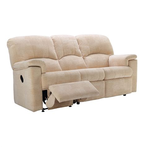 recliner sofa fabric g plan chloe fabric 3 seater power recliner sofa oldrids