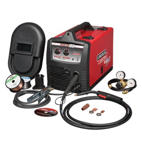 lincoln welder lowes shop lincoln electric 230 volt mig flux cored wire feed