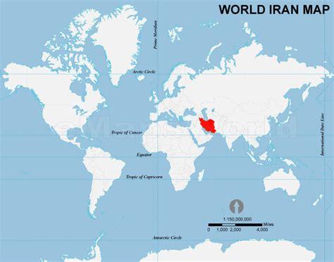 location of iran on world map iran location map location map of iran